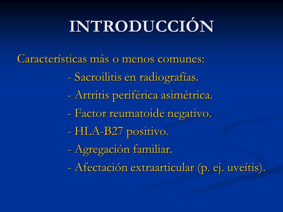 ANTI-TNF Y LINFOMA Casos aislados de linfoma en pacientes con AR.