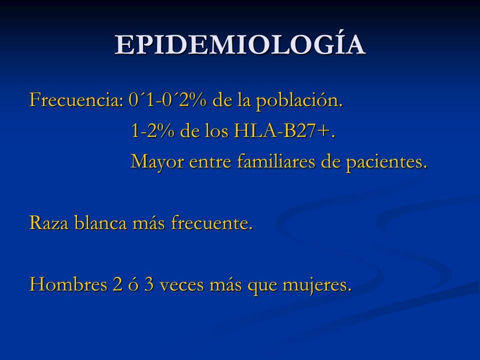 ADALIMUMAB Anticuerpo humano contra TNFα.Dosis: 40 mg s.c./2 sem.