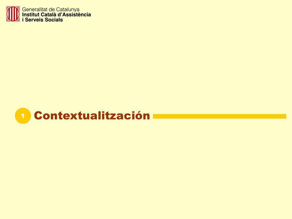 Calidad en los servicios sociales 1 a La política de calidad de lInstitut Català d Assistència i Serveis Socials (ICASS) está enfocada a la mejora de la calidad de vida de los ciudadanos en general y de los usuarios/as de los servicios sociales en particular.