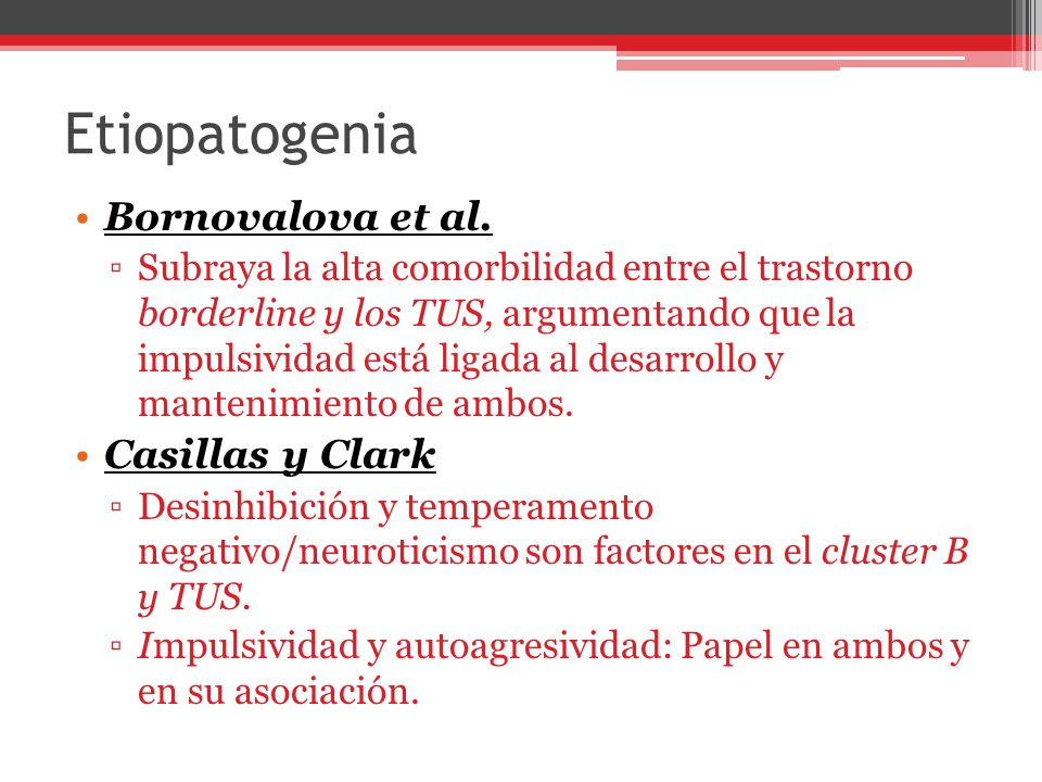 Etiopatogenia Bornovalova et al.