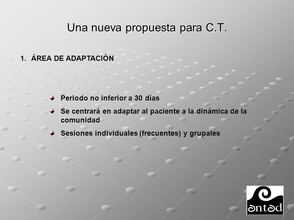 Una nueva propuesta para C.T.2. ÁREA DE TRATAMIENTO A.