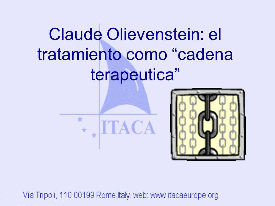 Claude Olievenstein: el tratamiento como cadena terapeutica