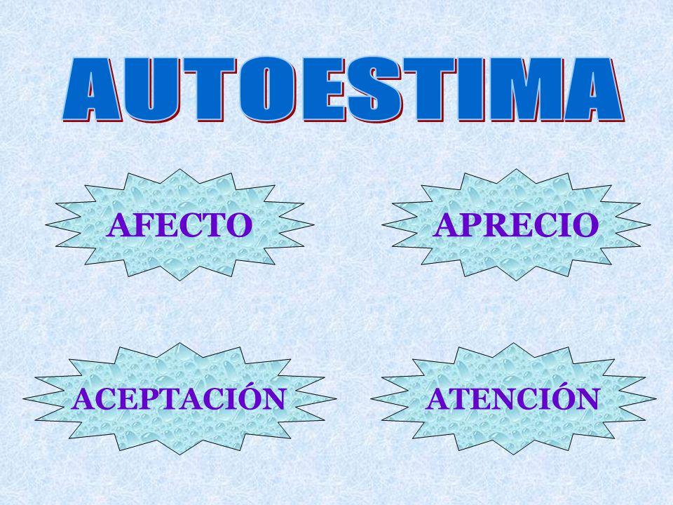 AFECTOAPRECIO ACEPTACIÓNATENCIÓN