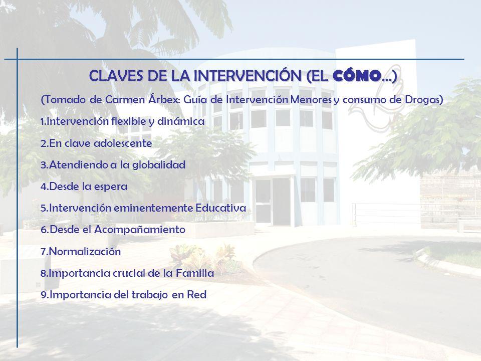 OBJETIVOS DEL PROGRAMA DE MENORES (EL PARA QUÉ …) 1.Fomentar la motivación para el tratamiento en menores con problemas de uso, abuso/dependencia.