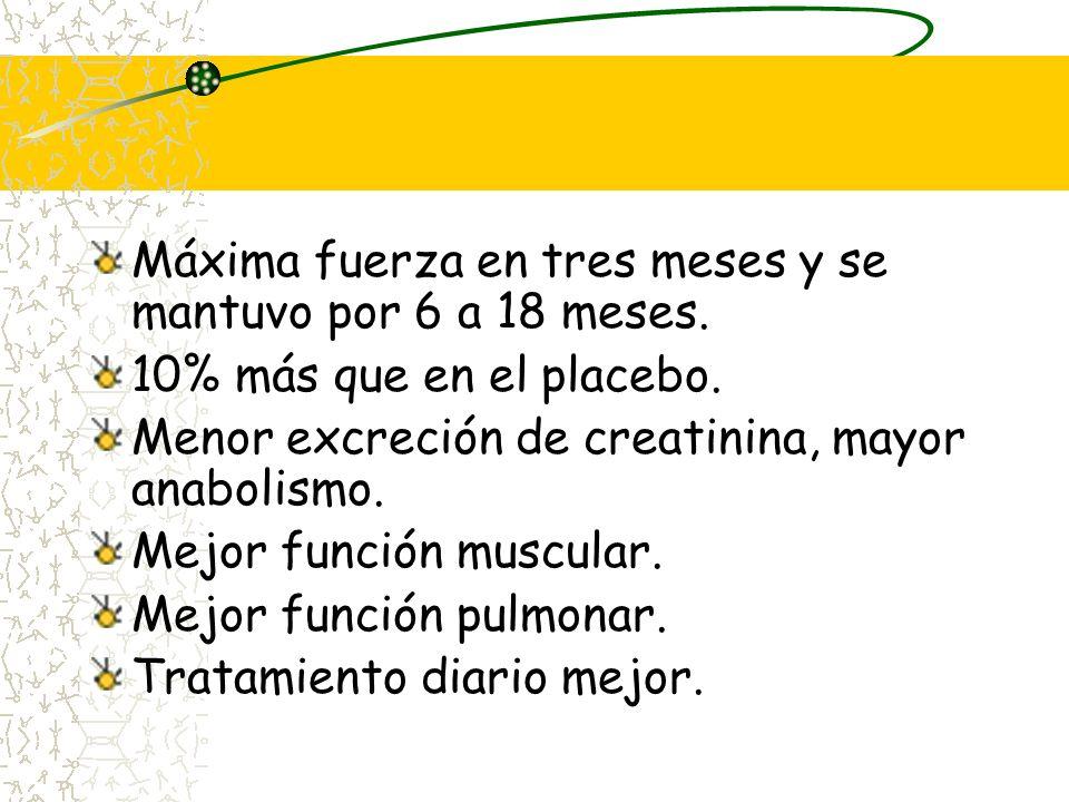 Beneficios y efectos adversos de prednisona/prednisolona 7 estudios clase I demostraron beneficio. 221 pacientes 6 a 18 meses de tratamiento 4 estudio
