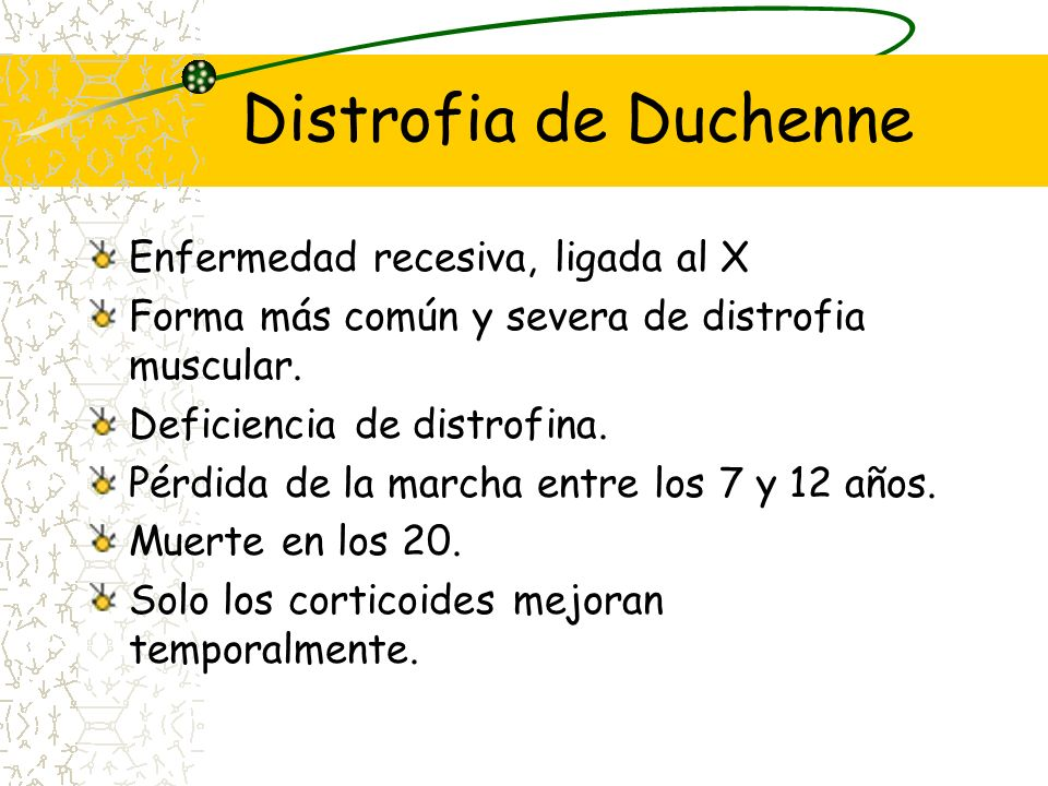 Objetivo Revisar la evidencia disponible del tratamiento con corticoides en la enfermedad de Duchenne