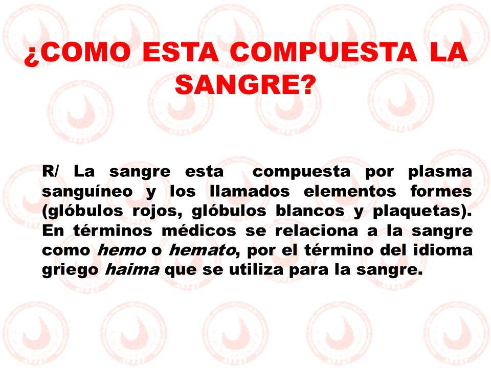 ¿ES LO MISMO TIPO DE SANGRE, QUE TIPO DE HEMOGLOBINA.