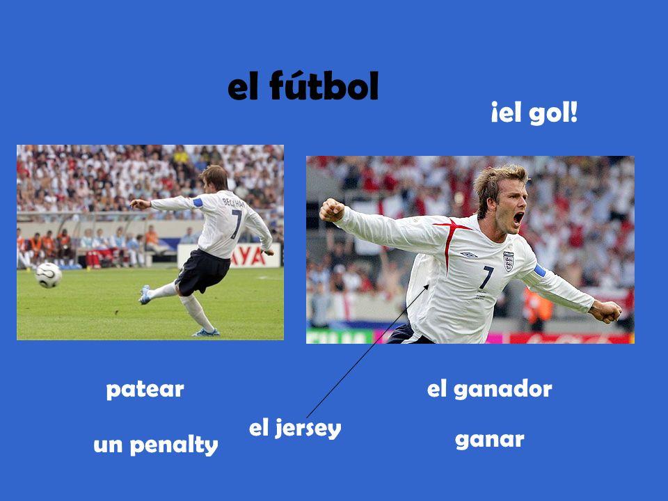 el fútbol patear un penalty el jersey el ganador ganar ¡el gol!