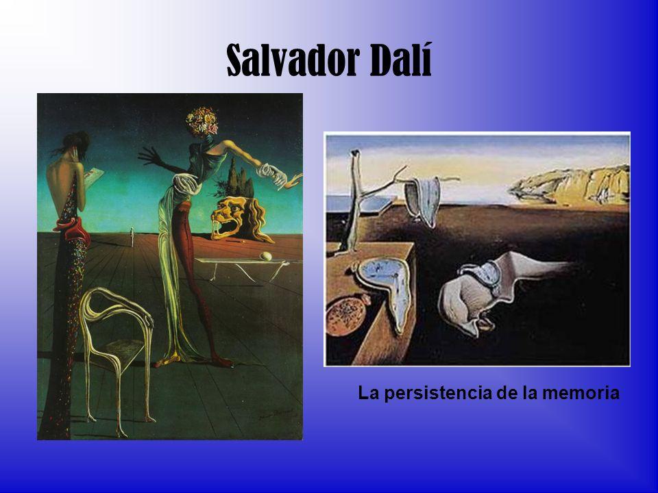 Salvador Dalí La persistencia de la memoria