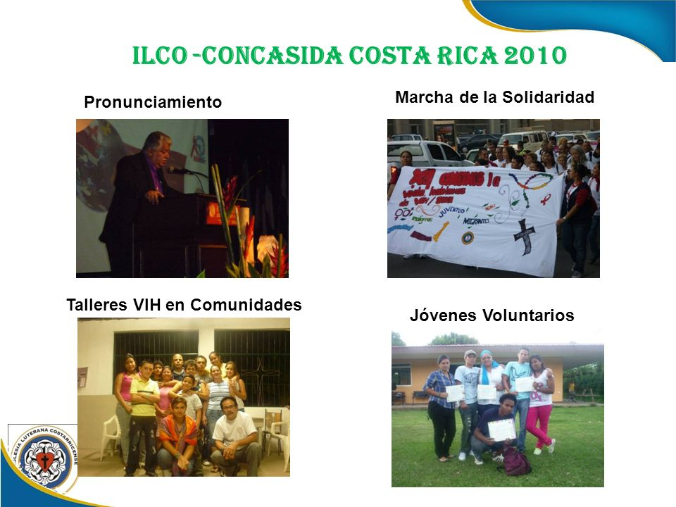 Pronunciamiento Marcha de la Solidaridad Talleres VIH en Comunidades Jóvenes Voluntarios