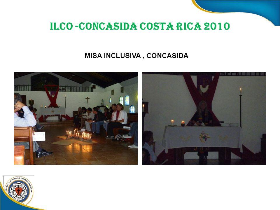 ILCO -CONCASIDA COSTA RICA 2010 MISA INCLUSIVA, CONCASIDA