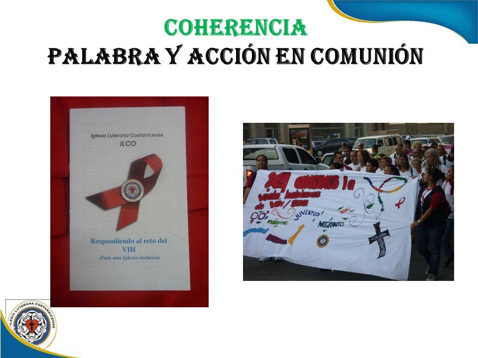 Coherencia Palabra y acción en comunión