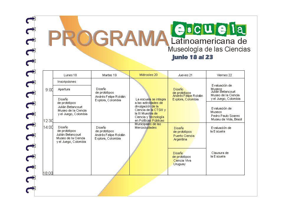 Escuelas locales Escuelas nacionales Escuelas regionales Escuela latinoamericana Razón social Tejer redes Redes nacionales, redes regionales, universidades, organismos nacionales e internacionales, etc.
