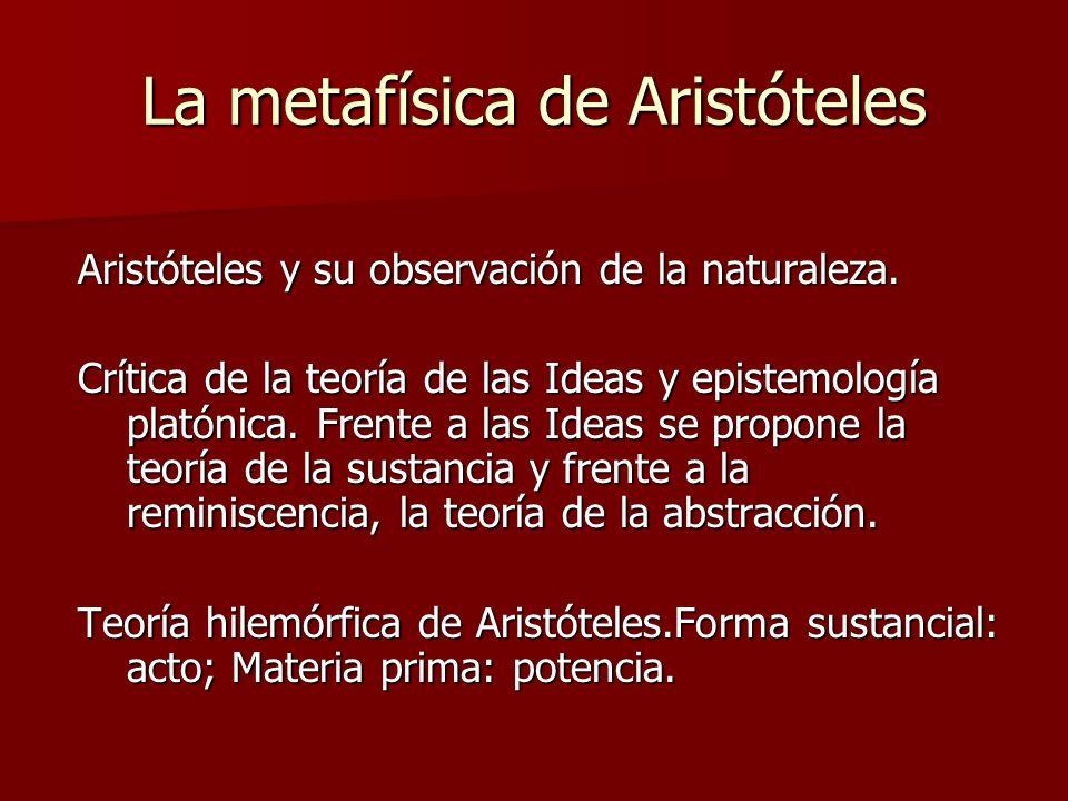 El movimiento para Aristóteles Crítica a Parménides: noción de potencia y acto.