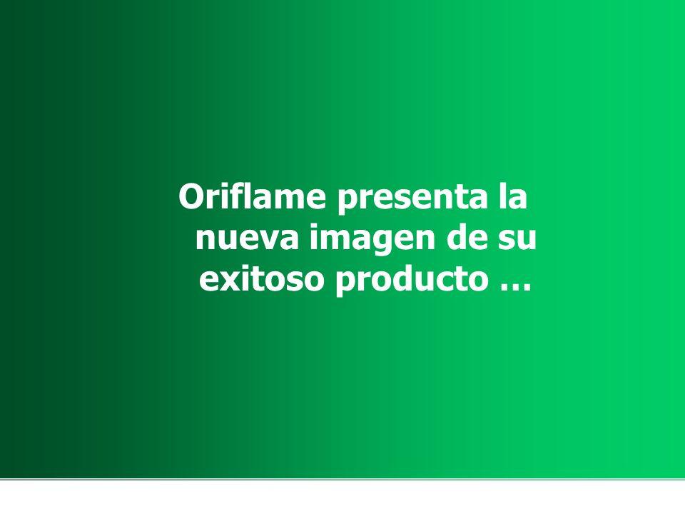 Oriflame presenta la nueva imagen de su exitoso producto …