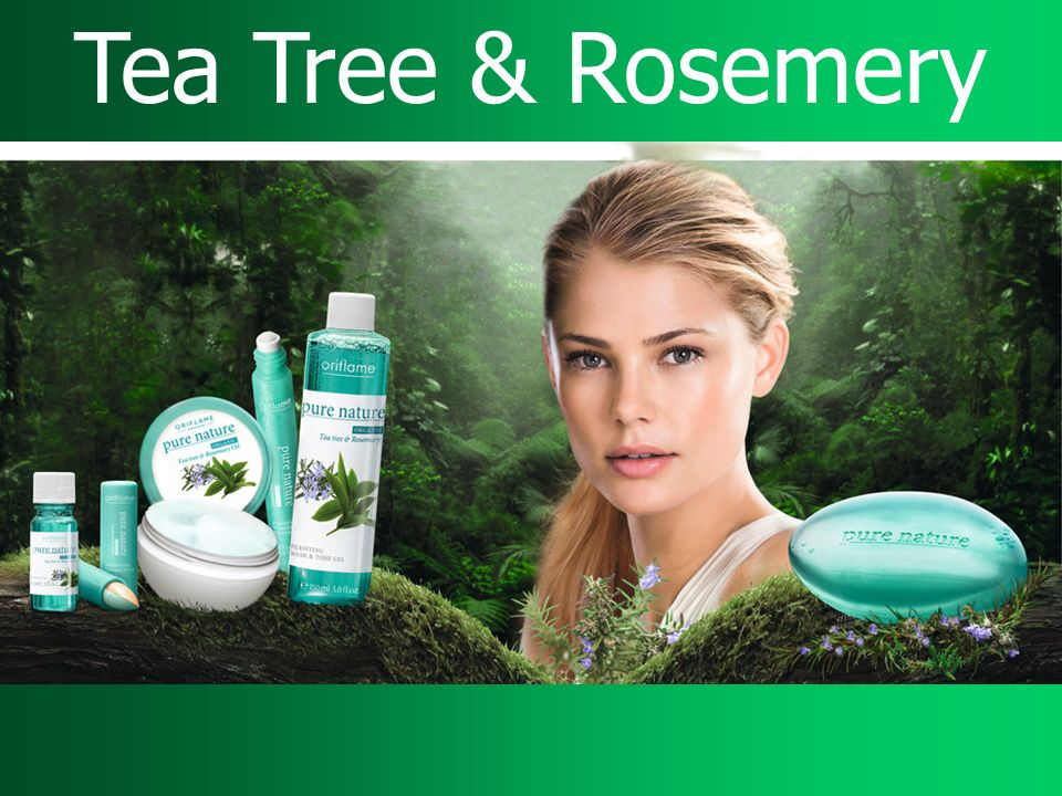 Tea Tree & Rosemery