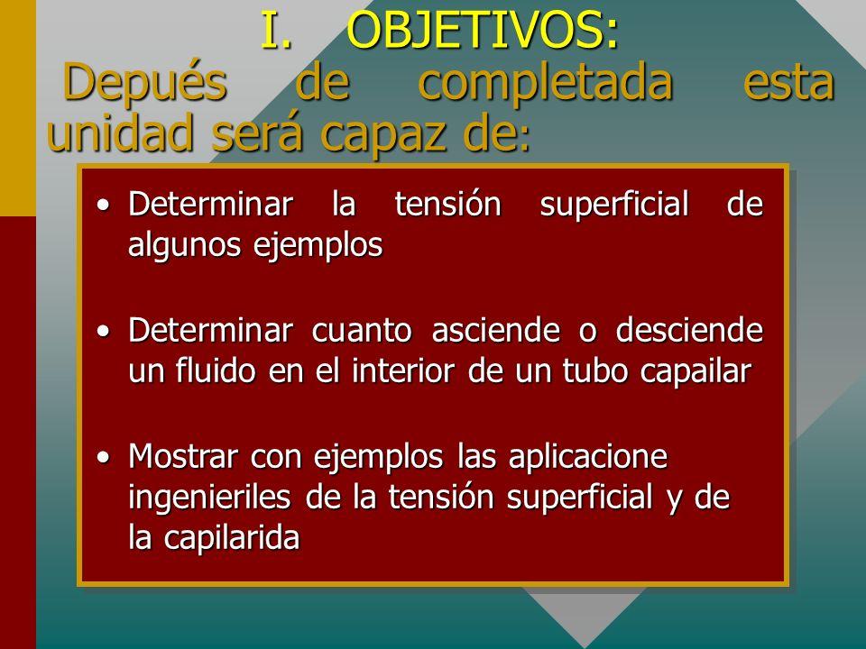 UNIVERSIDAD NACIONAL SANTIAGO ANTÚNEZ DE MAYOLO FACULTAD DE INGENIERÍA CIVIL CURSO: FISICA II TENSIÓN SUPERFICIAL Y CAPILARIDAD AUTOR: Mag. Optaciano