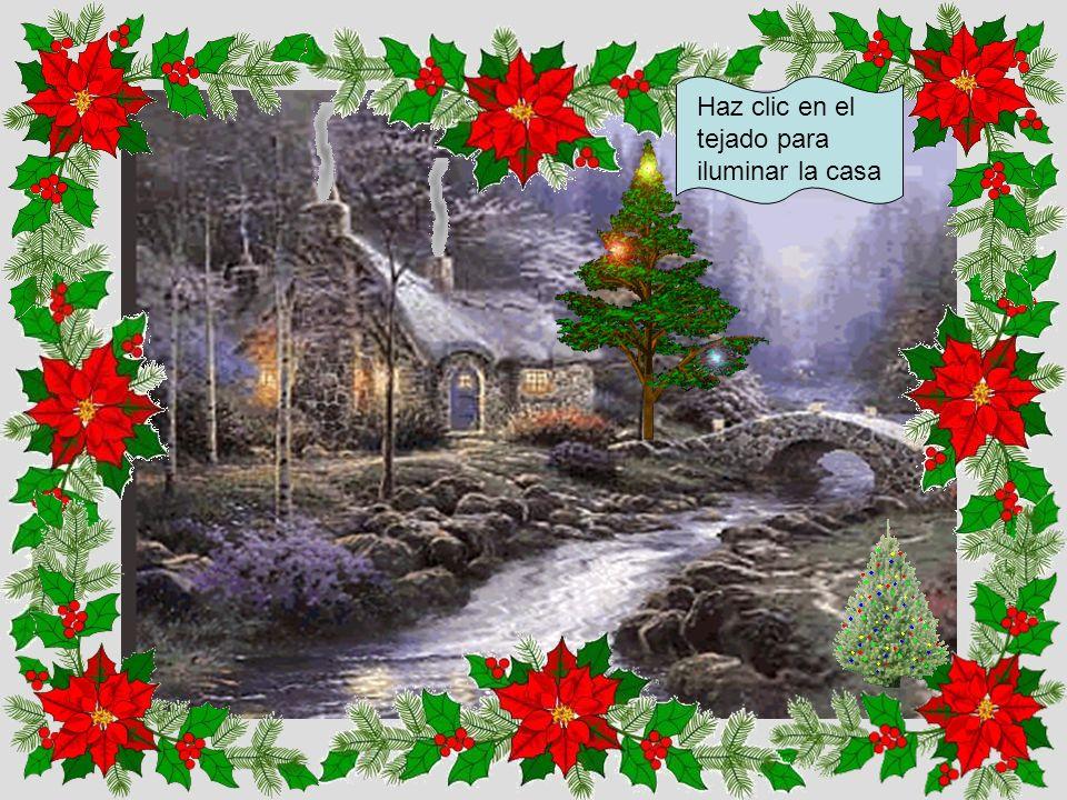 Haz clic en el árbol para poner uno de Navidad