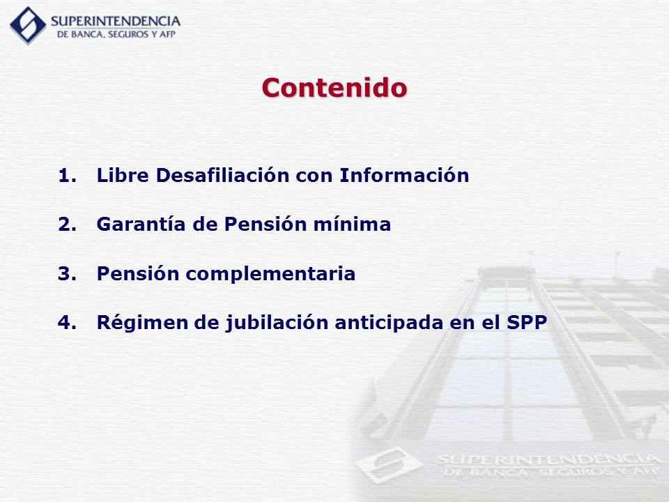Libre Desafiliación con Información: Estimación de pensión SNP Cómo se calculan las pensiones en el SNP.