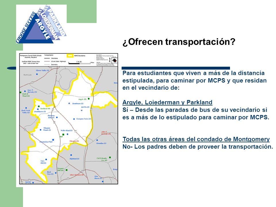 Septiembre del 2012 - Noche de información para padres del MSMC Octubre del 2012 - Escuelas abiertas en Loiederman, Argyle y Parkland - Formularios de elección disponibles a mediados de octubre.
