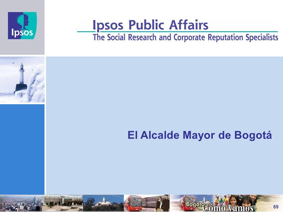 El Alcalde Mayor de Bogotá 69