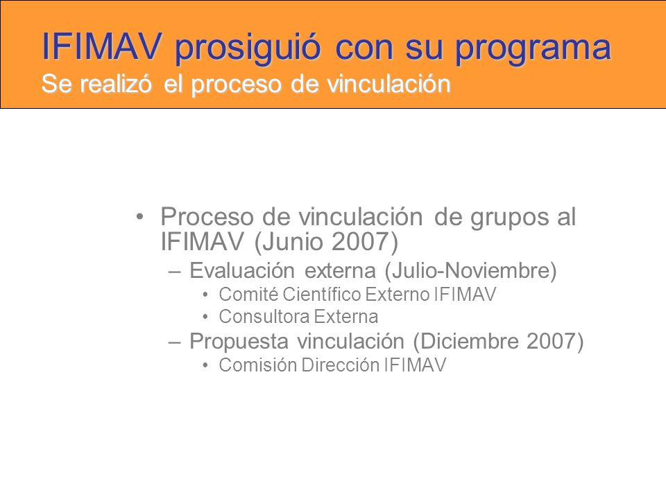 II III-IV Grupos cooperativos Industria Aprobados Presentados Gestión del CEIC Regional Alrededor de 100 EC cada año HUMV9 HSLL2 G-AP2 HLDO1 Otros3 PRESIDENTE (G.