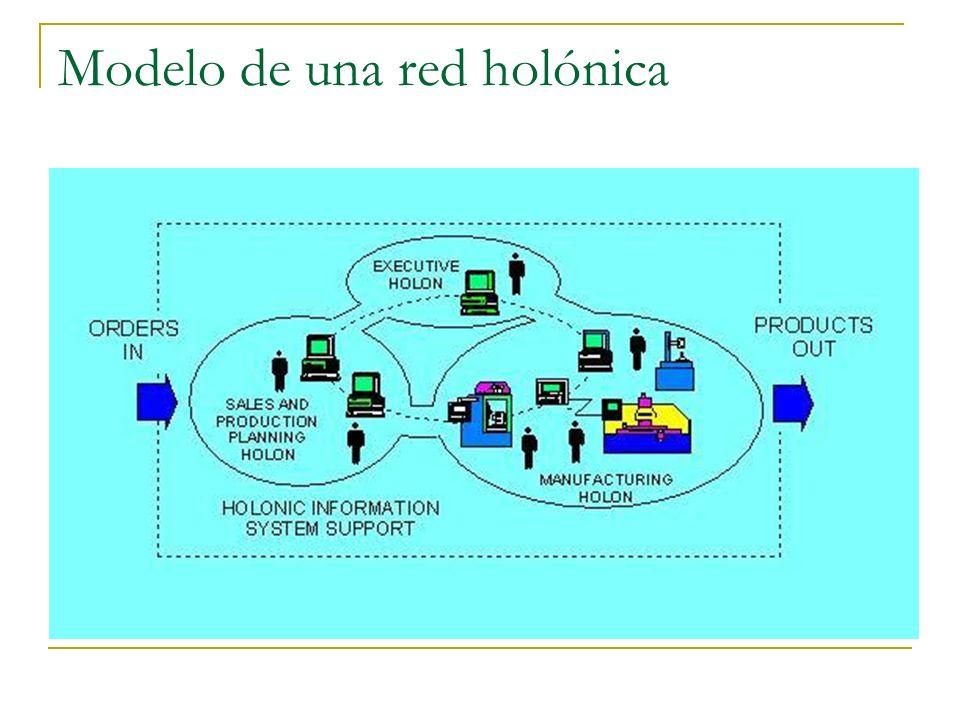 Modelo de una red holónica