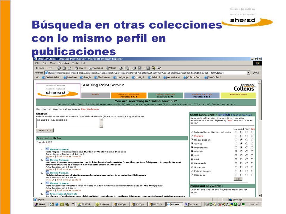 Agnes Soares Búsqueda en otras colecciones con lo mismo perfil en publicaciones