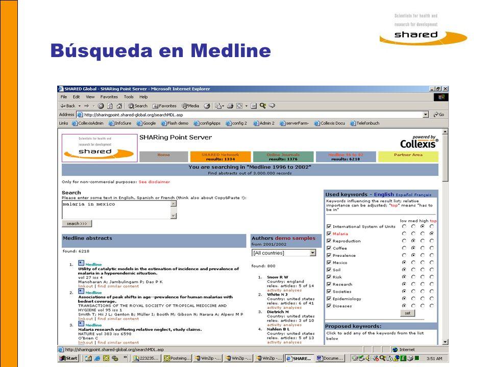 Agnes Soares Búsqueda en Medline
