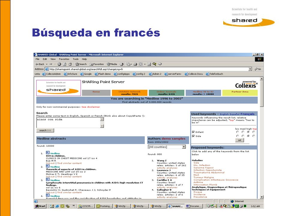 Agnes Soares Búsqueda en francés