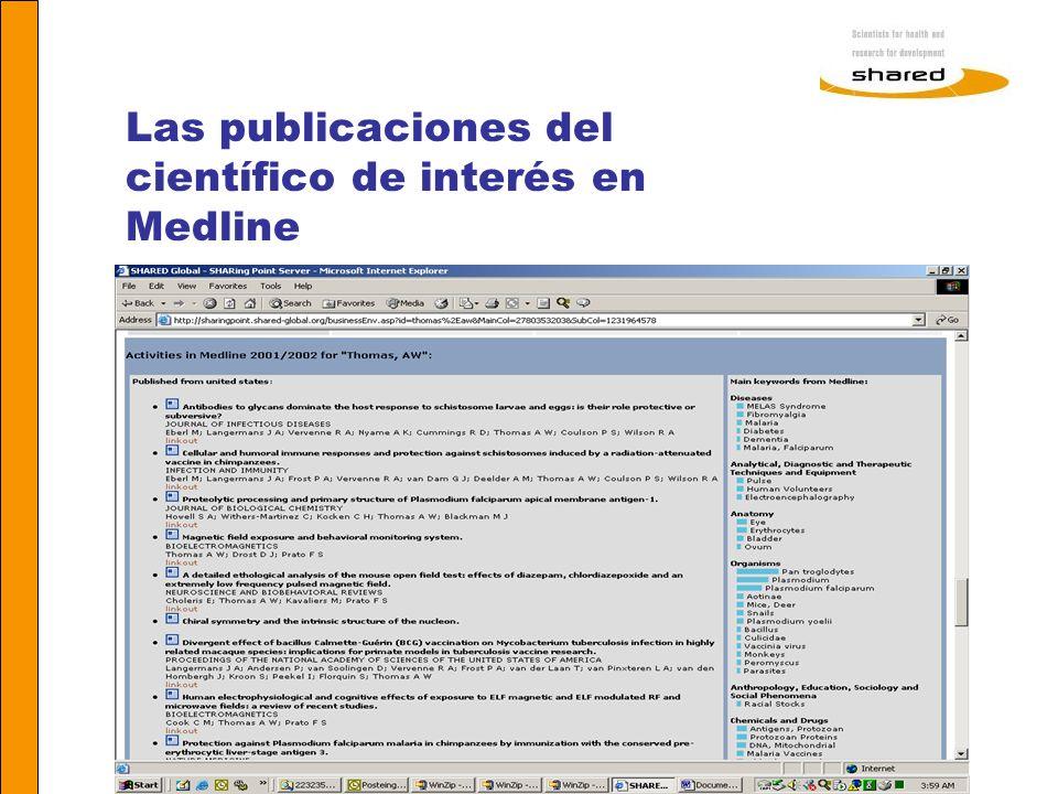 Agnes Soares Las publicaciones del científico de interés en Medline