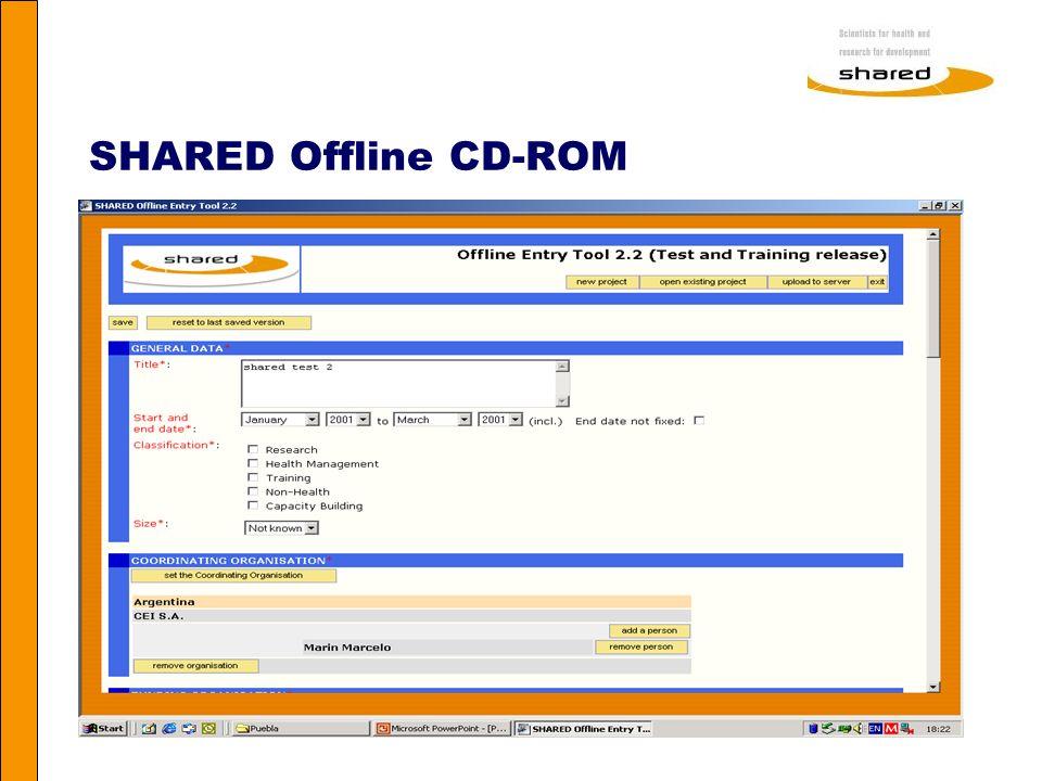 Agnes Soares SHARED Offline CD-ROM
