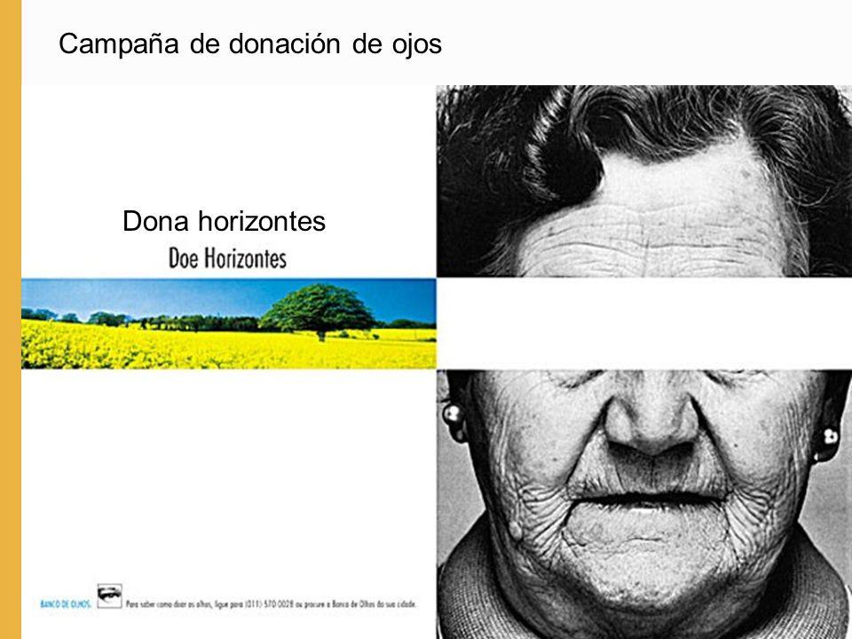 Campaña de donación de ojos Dona horizontes