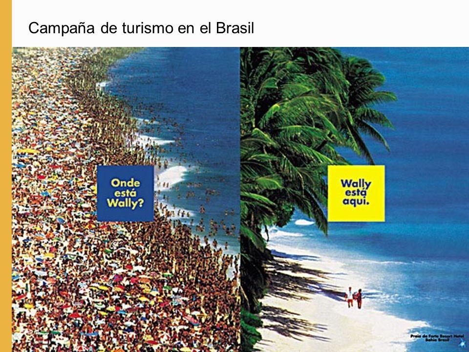 Campaña de turismo en el Brasil