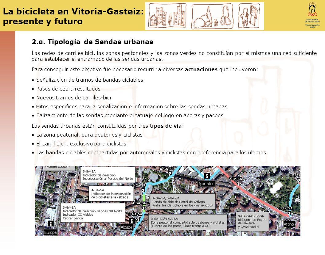 La bicicleta en Vitoria-Gasteiz: presente y futuro 2.b.