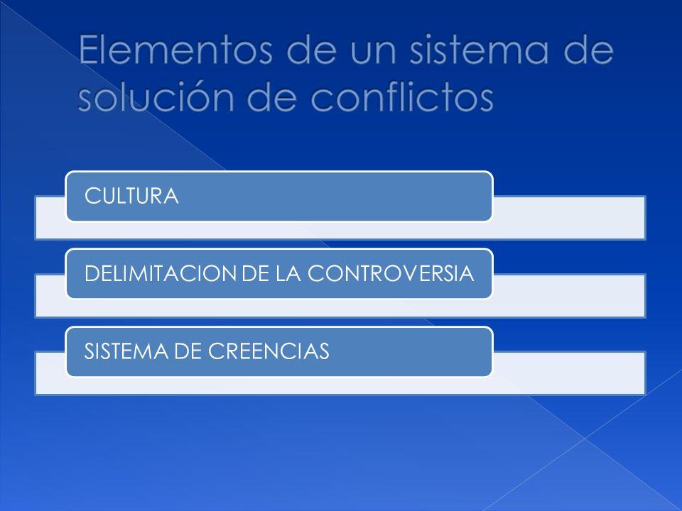 CULTURA DELIMITACION DE LA CONTROVERSIASISTEMA DE CREENCIAS