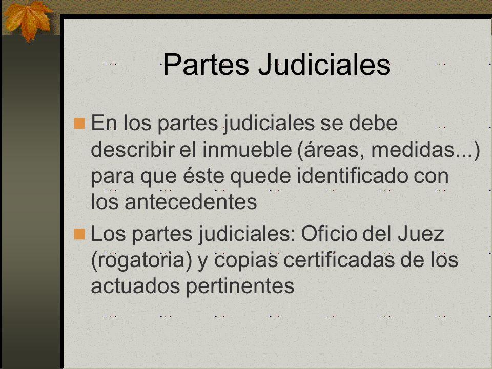 Mandatos Judiciales La anotación de demanda permite retrotraer la fecha de la sentencia a la fecha de la anotación de demanda Puede exigirse el cumpli