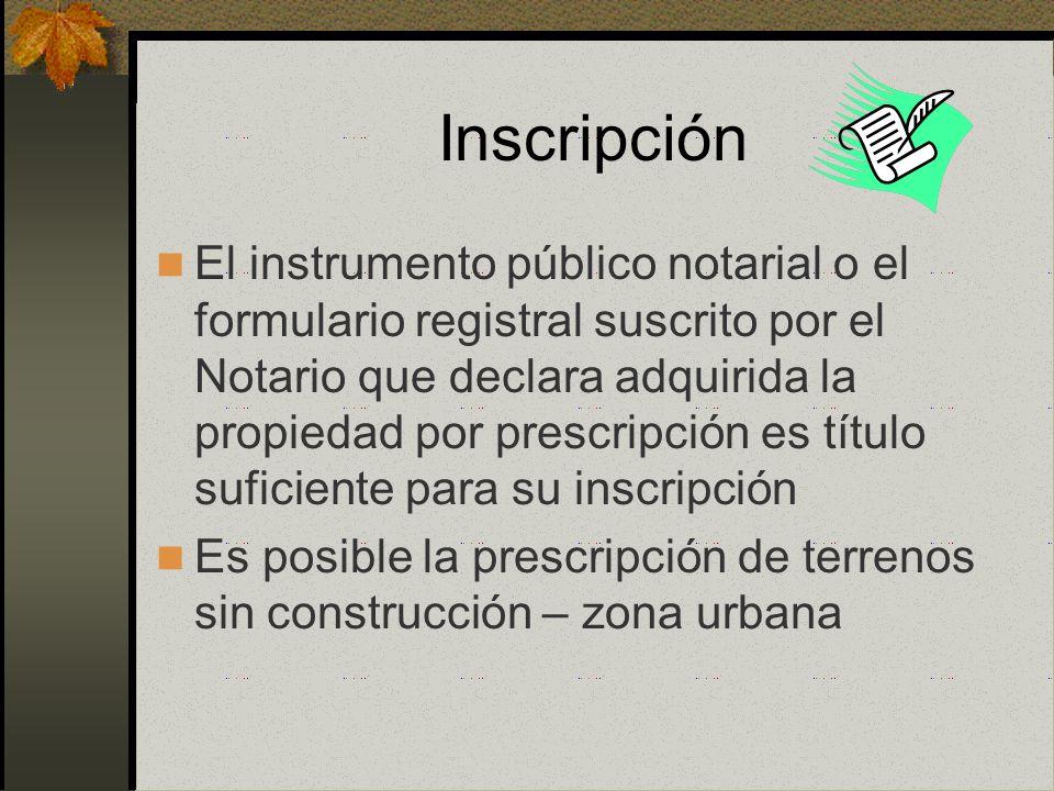 Oposición Si existe oposición el Notario da por concluido el tramite, notificando al solicitante, al Colegio de Notarios y a la oficina registral corr