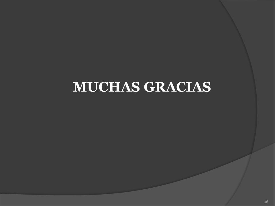 16 MUCHAS GRACIAS