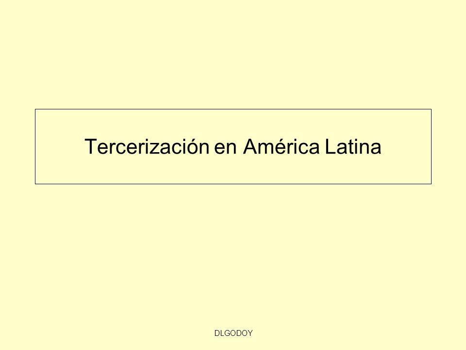 DLGODOY Tercerización en América Latina