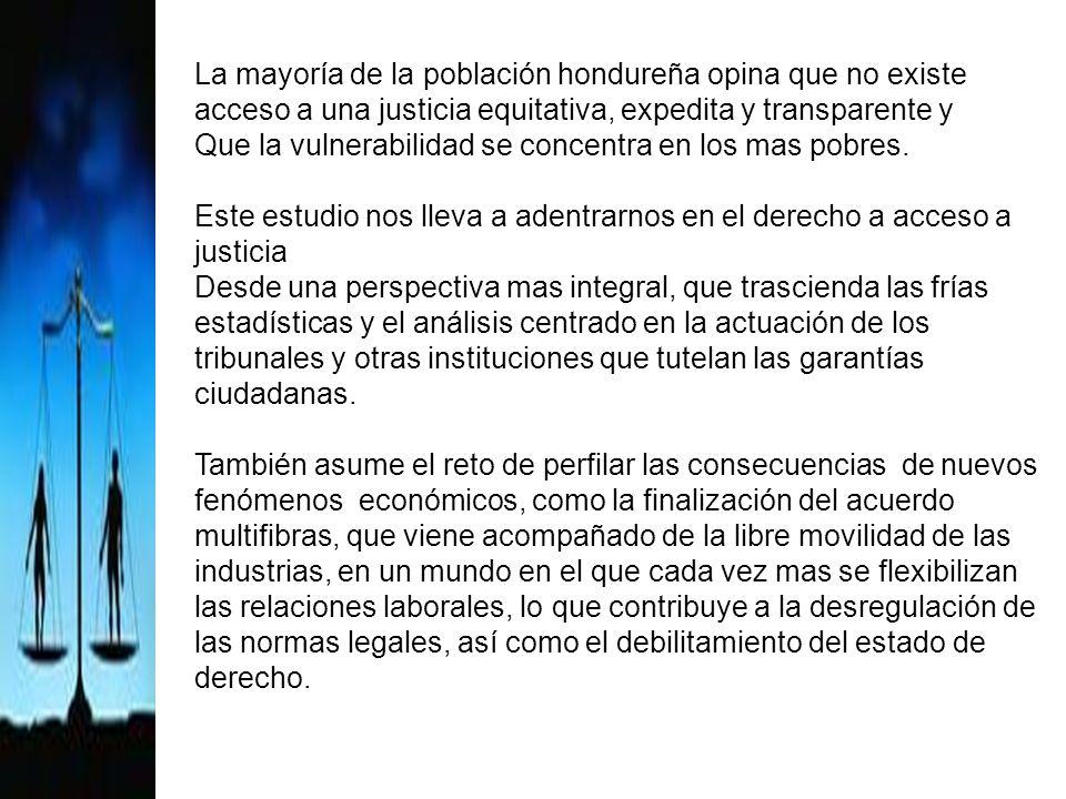 Contenido del libro Contexto Nacional Un esbozo sobre el acceso a la justicia en Honduras Jurisdicción laboral Las Violaciones mas frecuentes a los DL y los Obstáculos para acceder a la justicia Conclusiones y Recomendaciones
