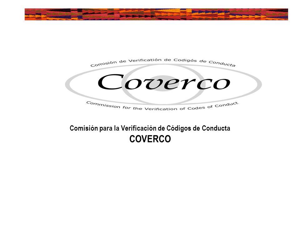 Comisión para la Verificación de Códigos de Conducta COVERCO