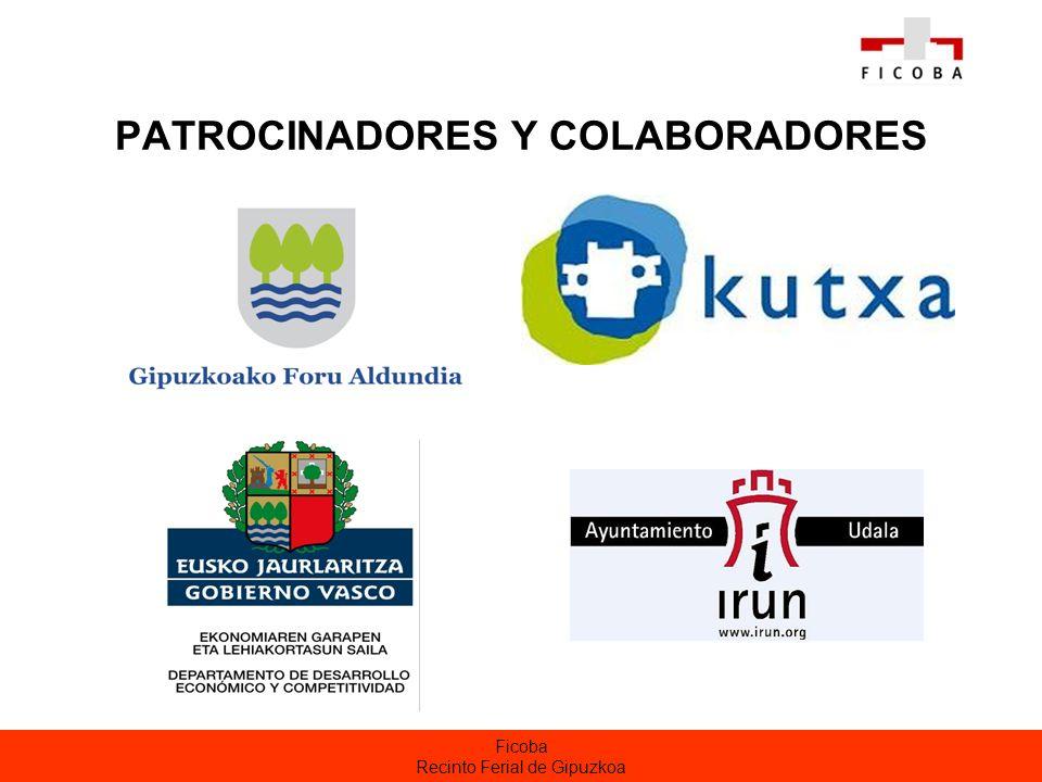 Ficoba Recinto Ferial de Gipuzkoa PATROCINADORES Y COLABORADORES