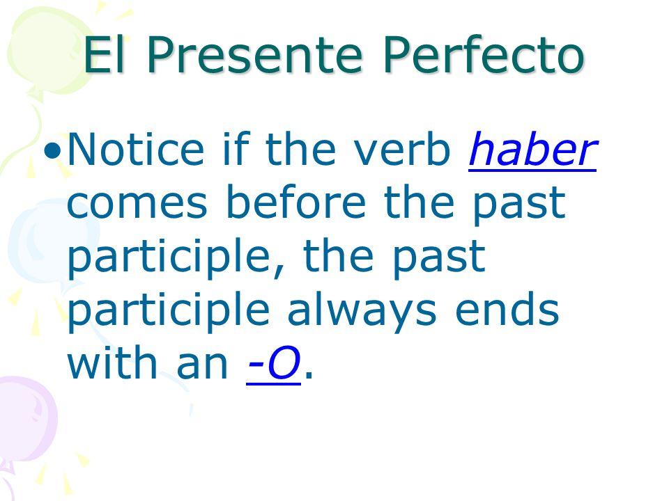 El Presente Perfecto ¿Qué programa han escogido? What program have they/you chosen?