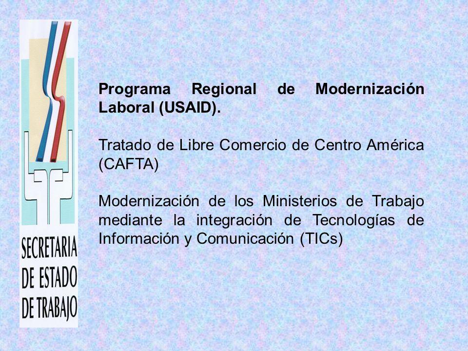 Programa Regional de Modernización Laboral (USAID).