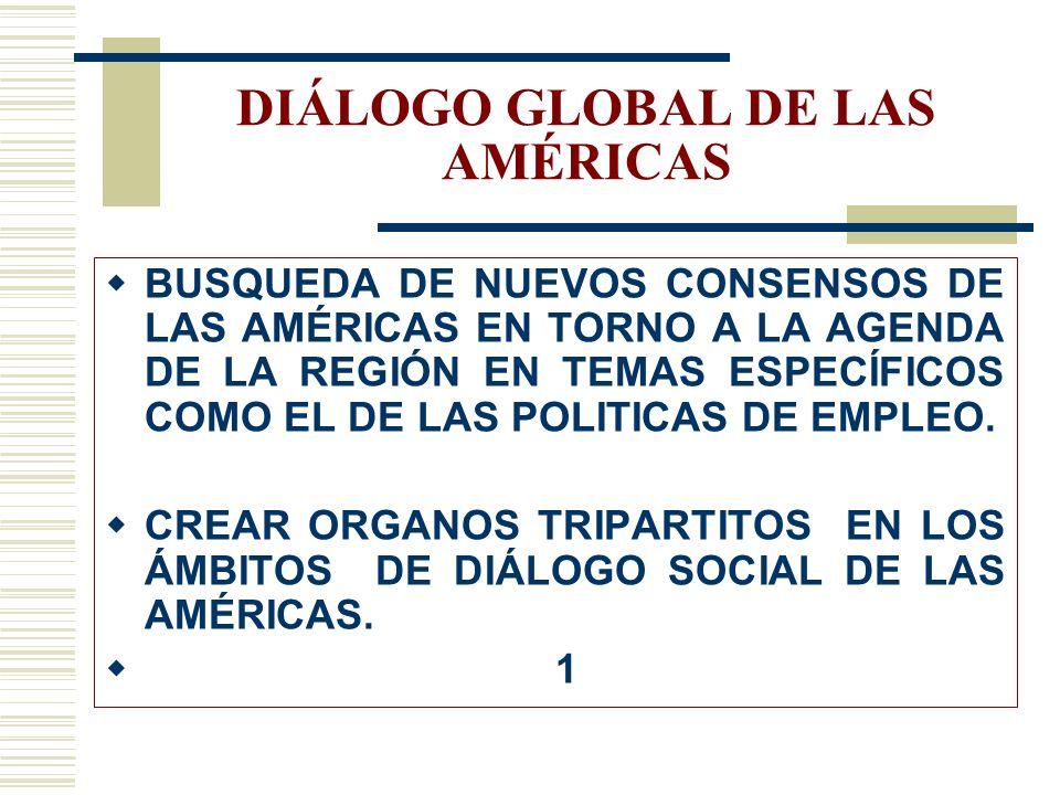 LOS RETOS DE MAYOR ALCANCE LA INSTAURACIÓN DE LOS SEGUROS DE DESEMPLEO EN LA REGIÓN A. L. LA CREACIÓN Y CANALIZACIÓN DE FONDOS SOCIALES ESTRUCTURALES