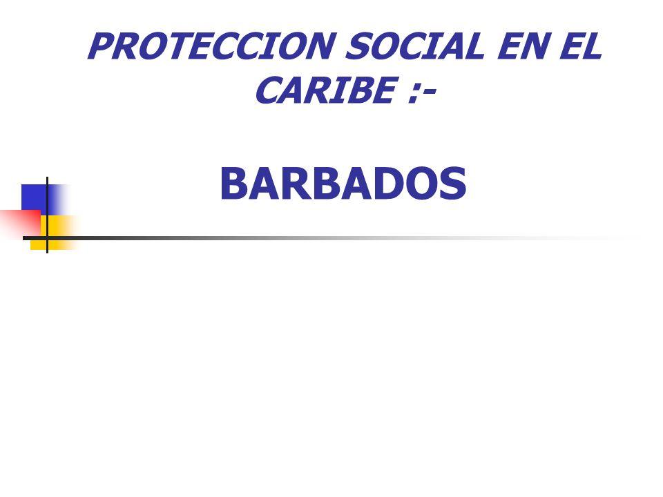 Mapa Institucional Beneficiencia Social Provista a través de varias agencias bajo el Ministerio de Asistencia Social Población Objetivo:- Personas vulnerables incluyendo adultos mayores y personas con discapacidades