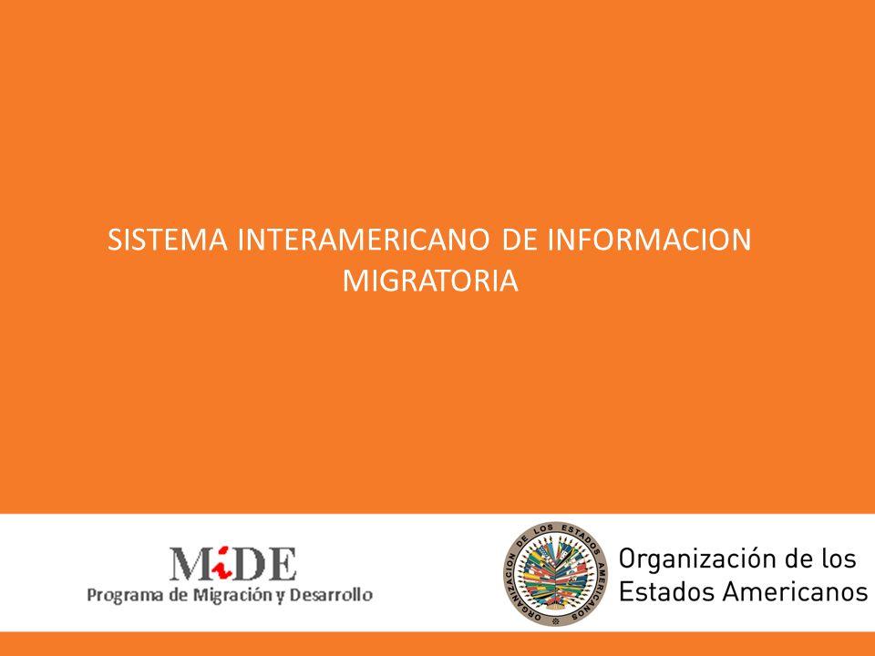 !Muchas gracias! Programa Migración y Desarrollo MIDE migracion@oas.org