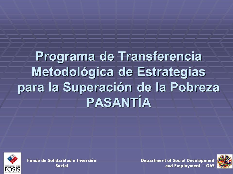 Programa de Transferencia Metodológica de Estrategias para la Superación de la Pobreza PASANTÍA