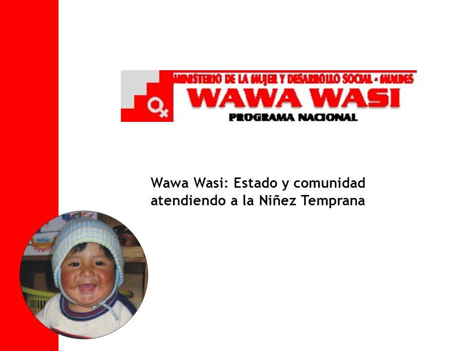 Wawa Wasi: Estado y comunidad atendiendo a la Niñez Temprana